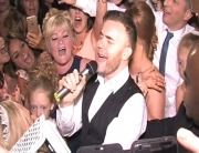 Gary Barlow Wedding Crash